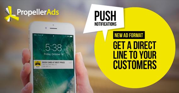 Push Notification Ad