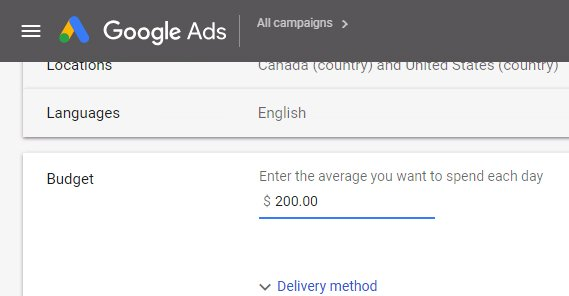 Increasing Ad Spend